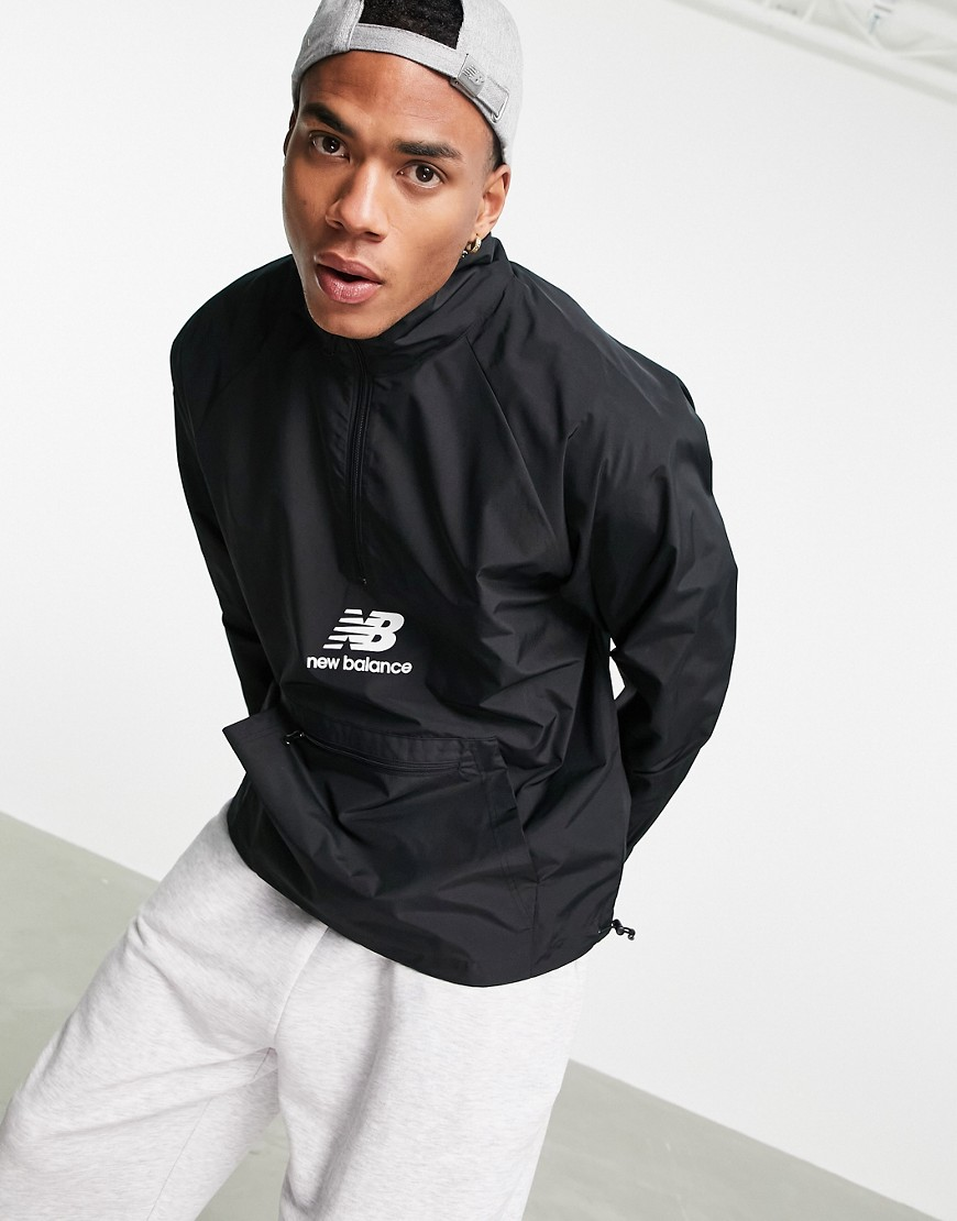 New Balance anorak in black