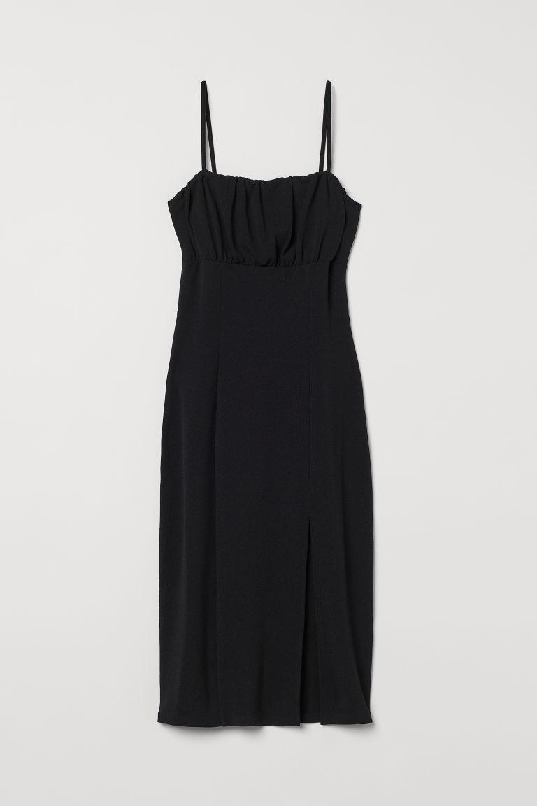 H & M - 合身洋裝 - 黑色