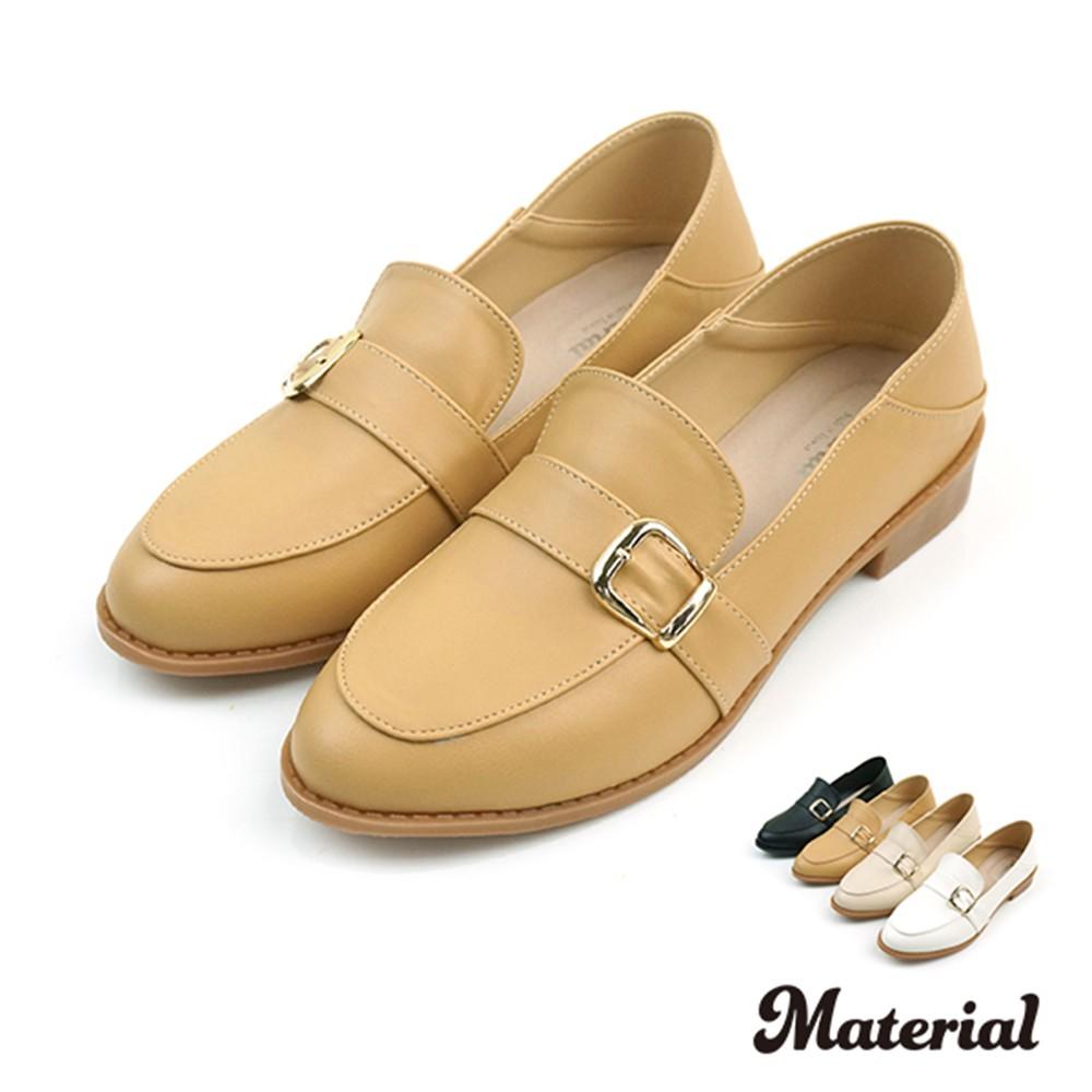 樂福鞋 簡約方扣樂福鞋 T58812