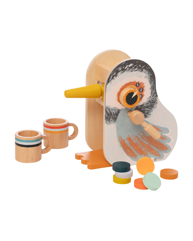 Early Bird Espresso Wooden Toy Set