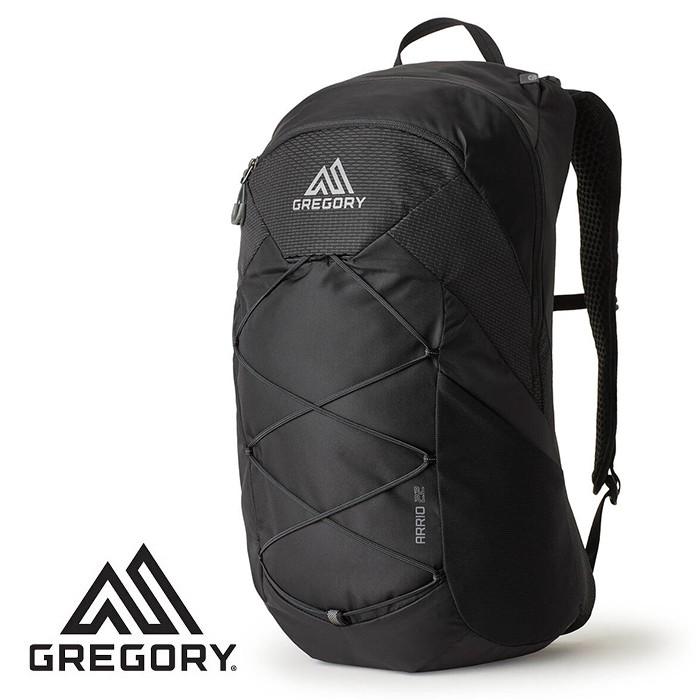 【Gregory 美國】ARRIO 22 多功能登山背包 運動背包 碳黑色 (138424-7409)