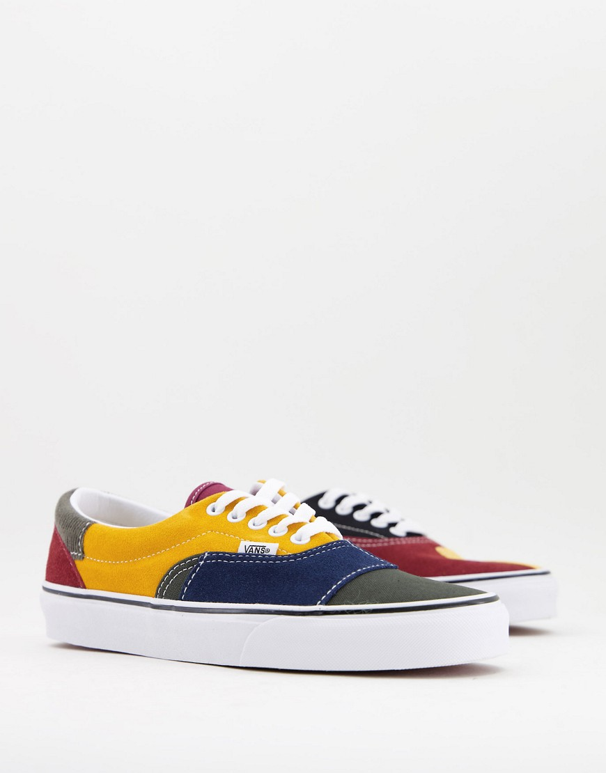 Vans UA Era trainers in forest and multi