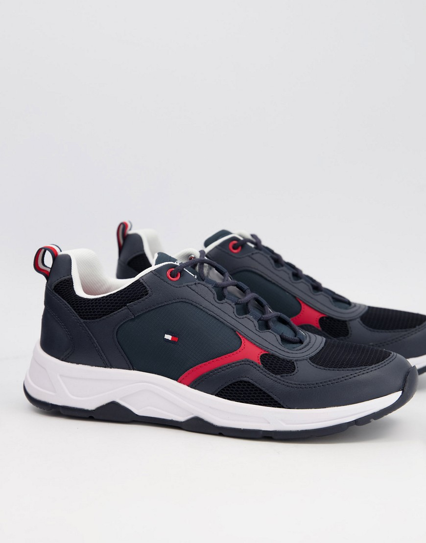 Tommy Hilfiger chunky trainers in navy