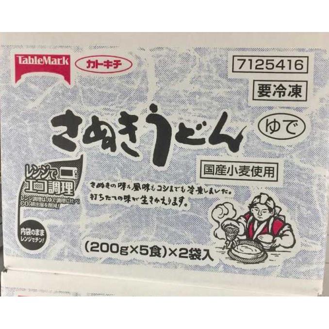 SANUKI UDON NOODLES 日本讚岐烏龍麵 200公克X10入 C578725 COSCO代購