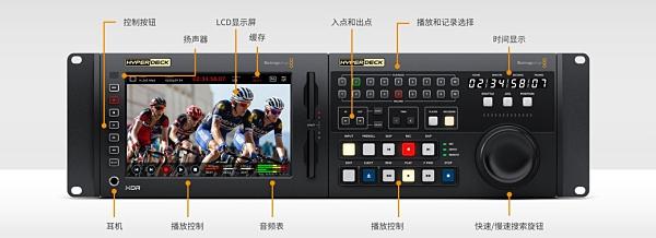【聖影數位】BlackMagic Design HyperDeck Extreme 8K HDR 廣播級錄影機 公司貨