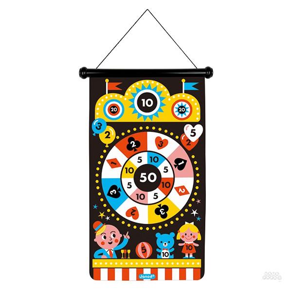 【法國Janod】磁性趣味標靶-嘉年華/飛鏢遊戲/派對遊戲/親子互動/手眼協調/休閒運動