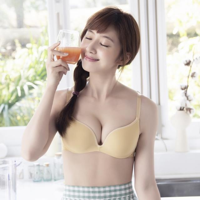 莎薇-好素配 B-C罩杯內衣(黃色) AB3583YE