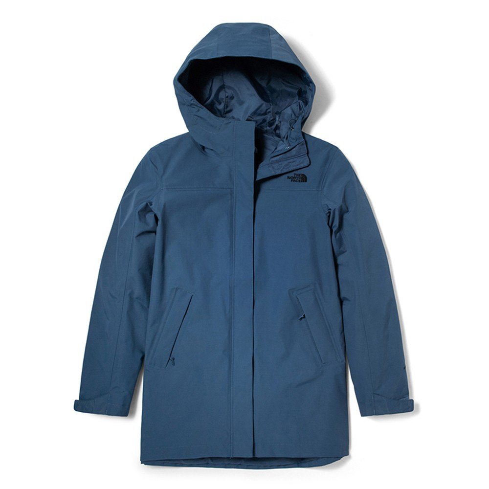 The North Face ML II ZIP IN PARKA 女 防水外套 藍 NF0A4NEHWC4