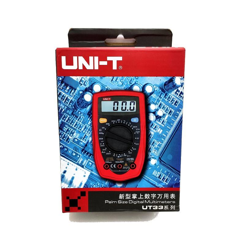 (庫存出清) 優利德 UNI-T UT33D 掌上型多功能電表 三用電表 萬能電表 (現貨) A0