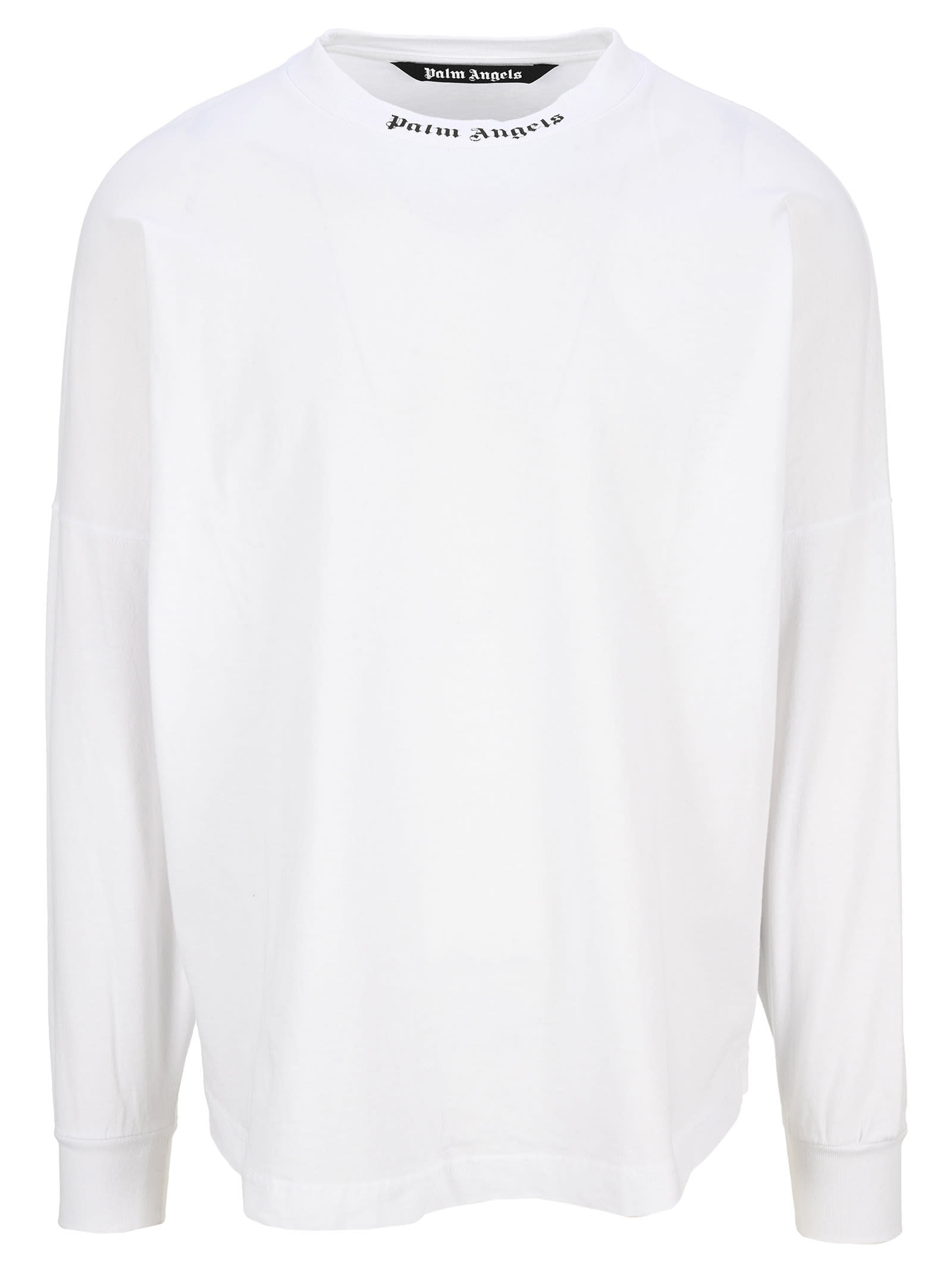 Palm Angels Doubled Logo Long-sleeve T-shirt
