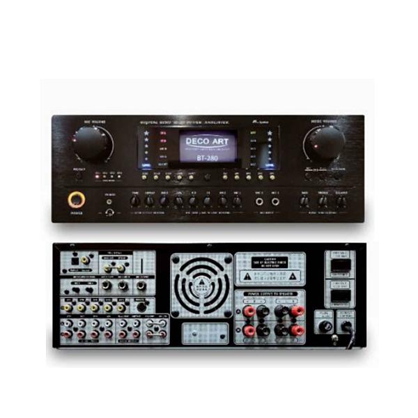 【新竹卡拉OK劇院劇院推薦】《名展音響 》DECO ART BT-280 專業級卡拉OK多功能藍芽擴大機