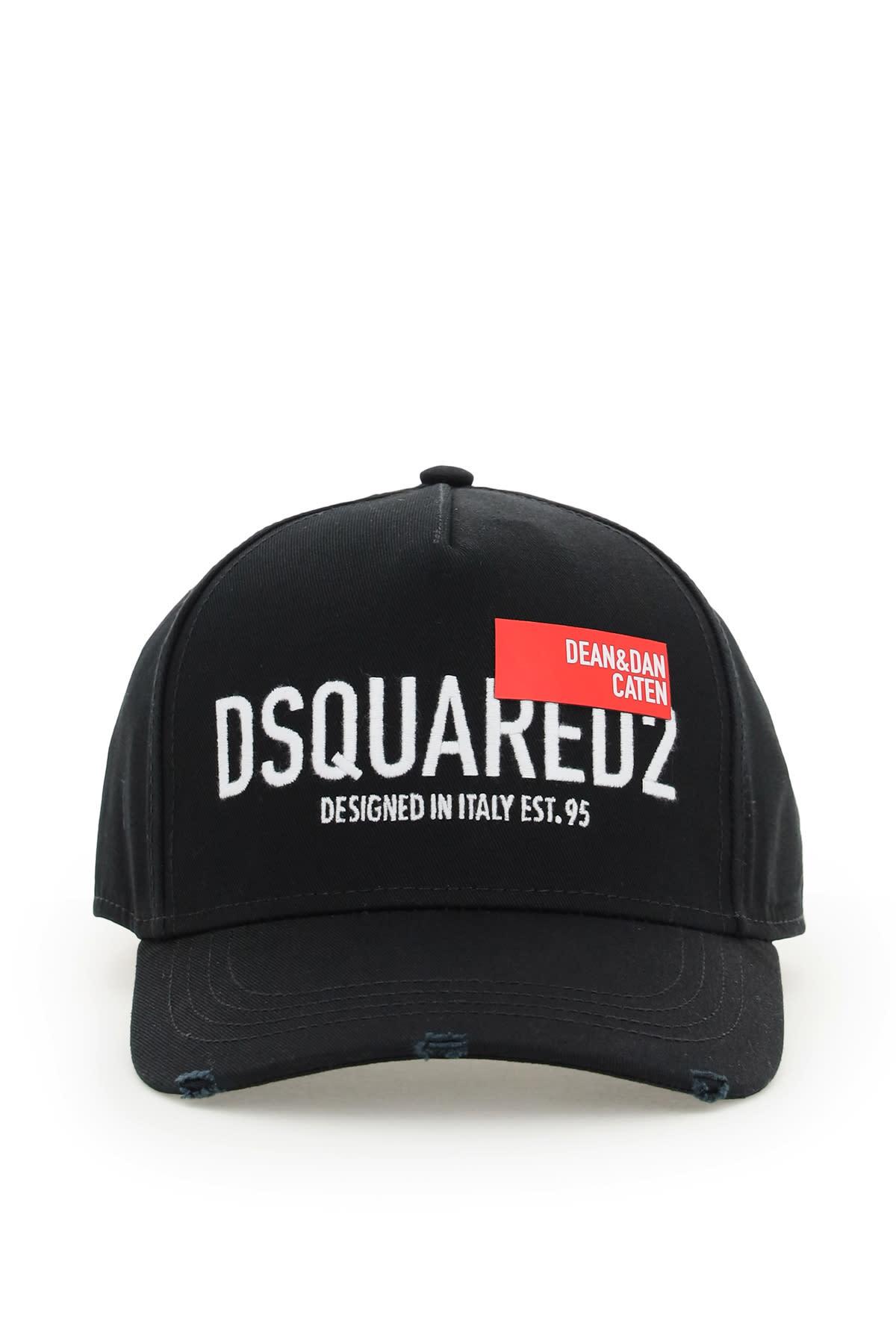 Dsquared2 D & d Red Tag Baseball Cap