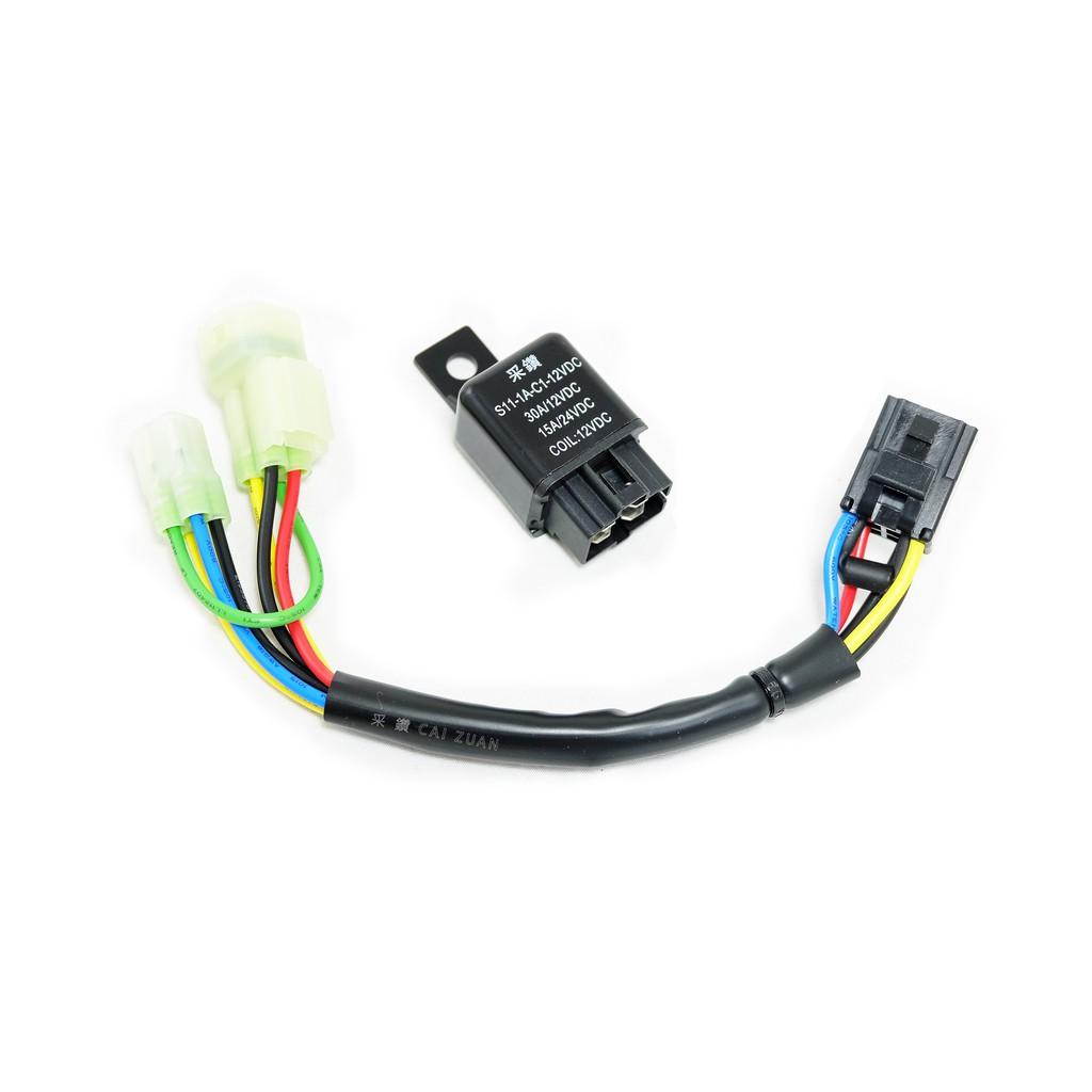 PGO 摩特動力 NEW J-BUBU 原廠LED頭燈版 / NEW J-BUBU S 裸把版 七期改五期 控制大燈線組