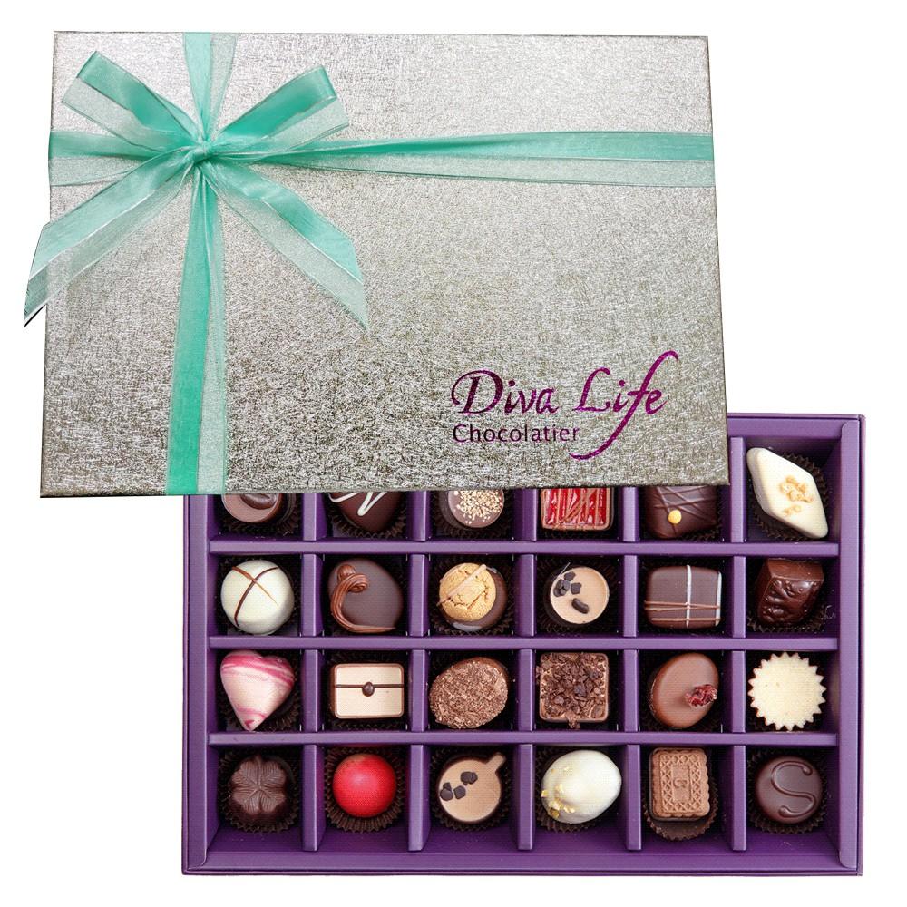 Diva Life Dazzling璀璨經典夾心巧克力禮盒24入