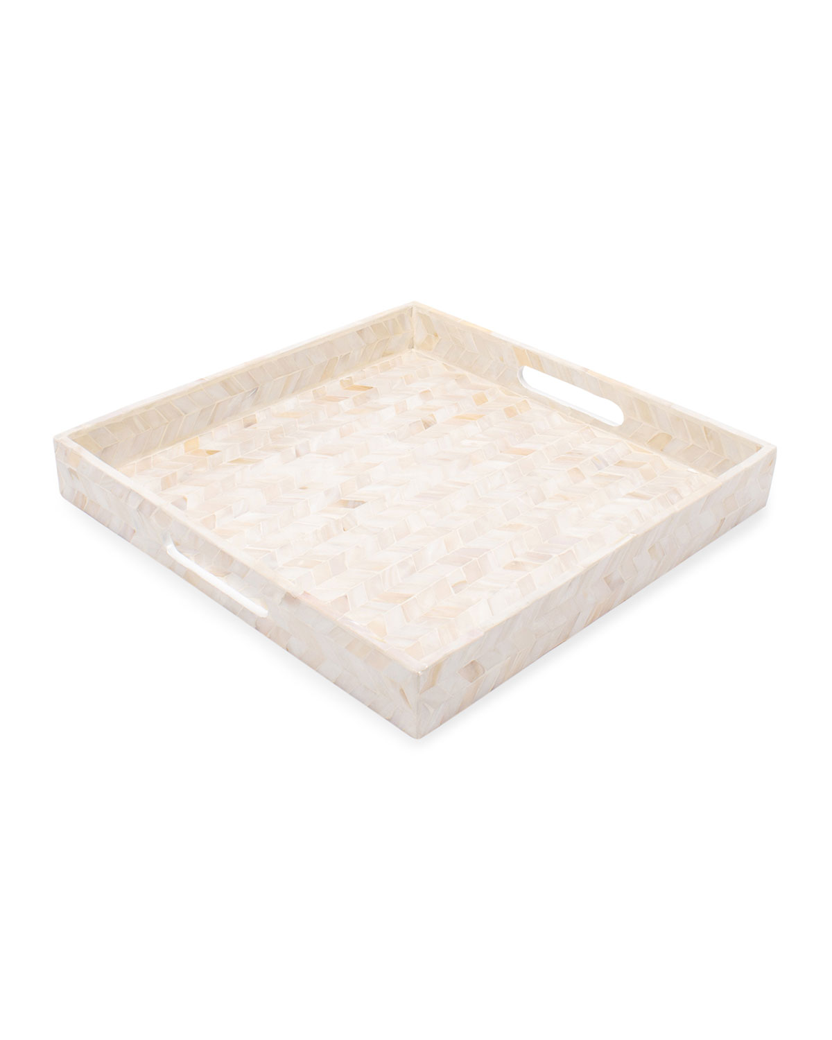 Mother-of-Pearl Square Tray