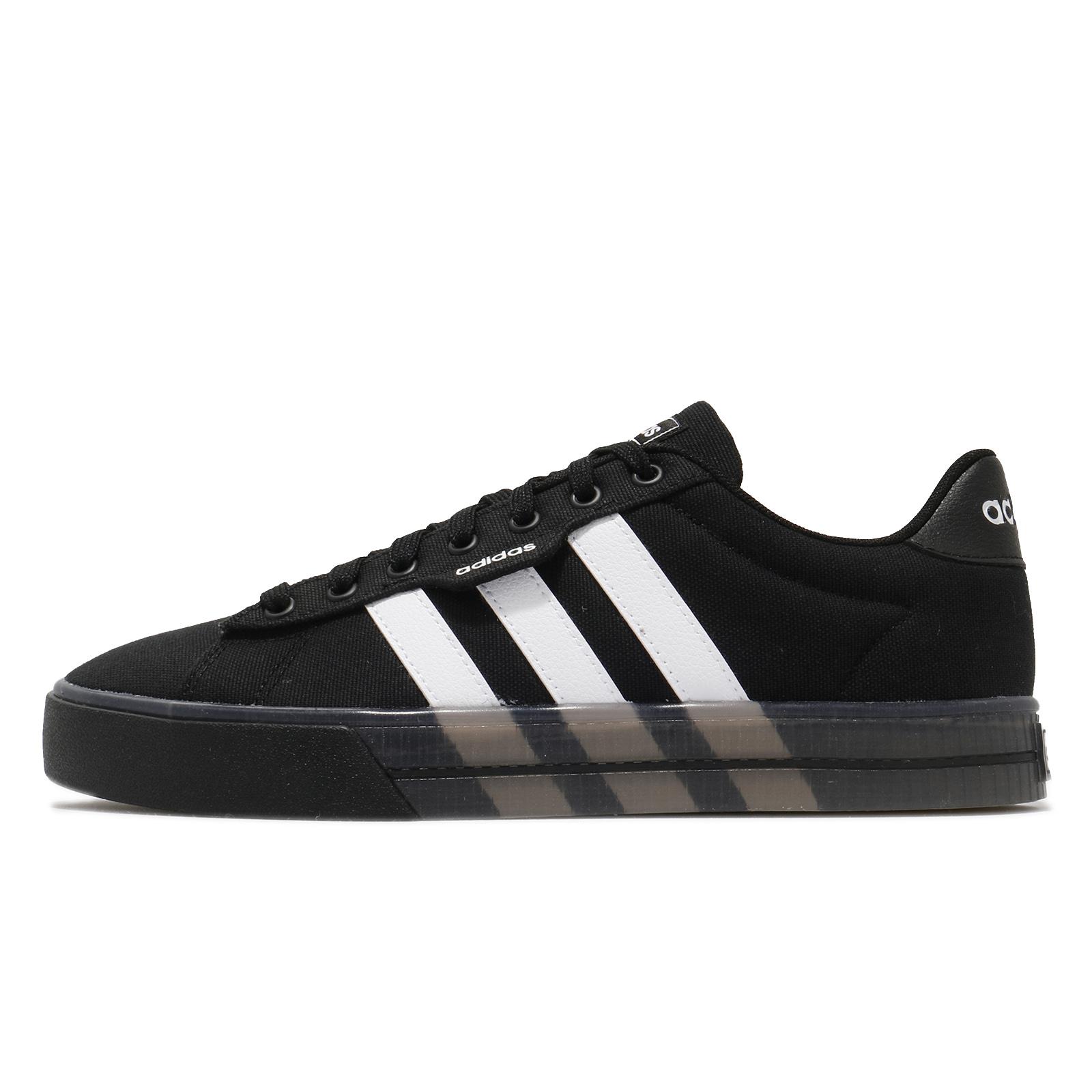 adidas 休閒鞋 Daily 3.0 黑白 三條線 基本款 男鞋 滑板鞋 愛迪達 Neo 【ACS】 FW7050