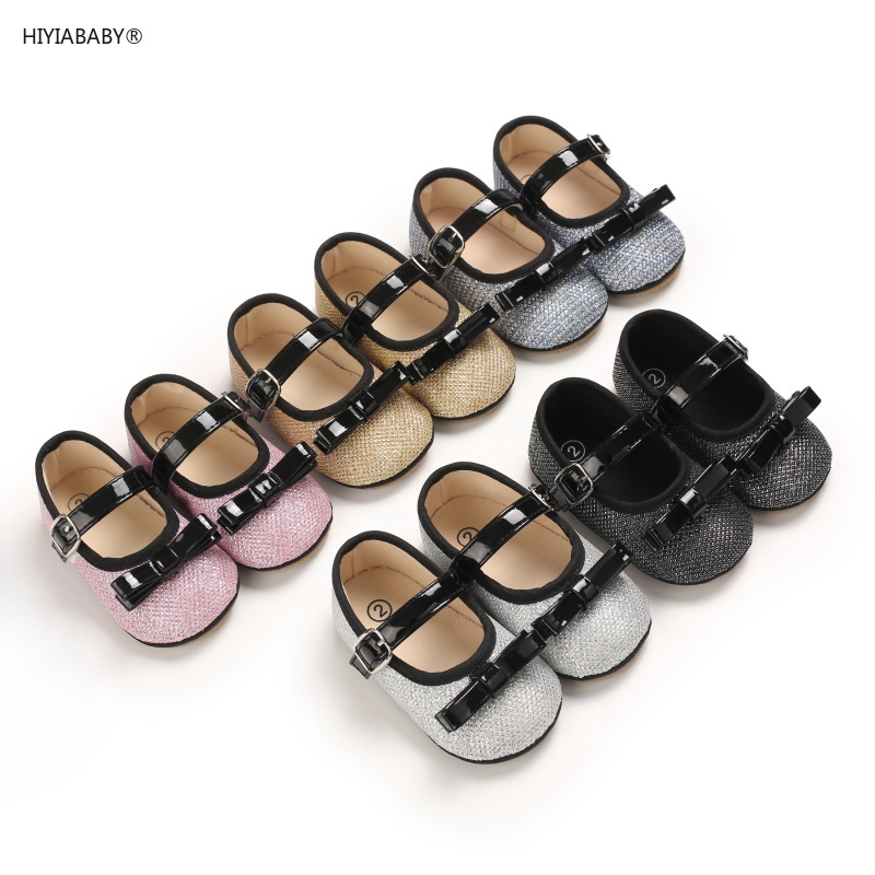 春秋0-1歲公主鞋女寶寶膠底軟底嬰兒學步鞋