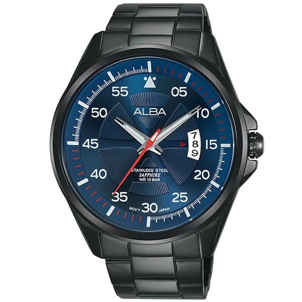 ALBA雅柏 ACTIVE系列 運動潮流手錶-44mm/藍(VJ42-X268B/AS9H39X1)