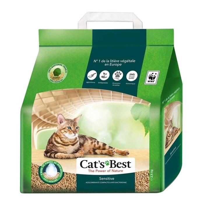 CAT`S BEST 凱優凝結木屑砂 黑標8L【4包組免運】『WANG』