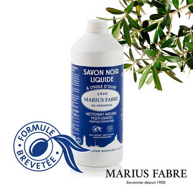 MARIUS FABRE法鉑橄欖油黑肥皂 1000ml