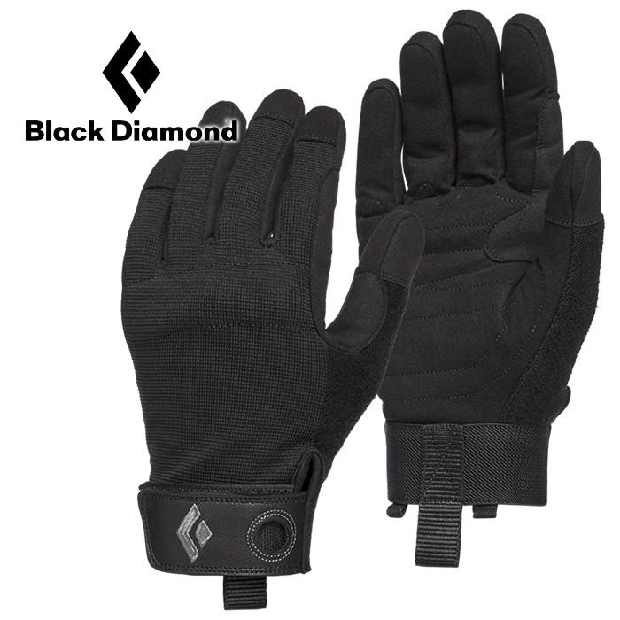 【Black Diamond 美國】Crag 攀岩登山手套 攀岩手套 工作手套 黑色 (801863)