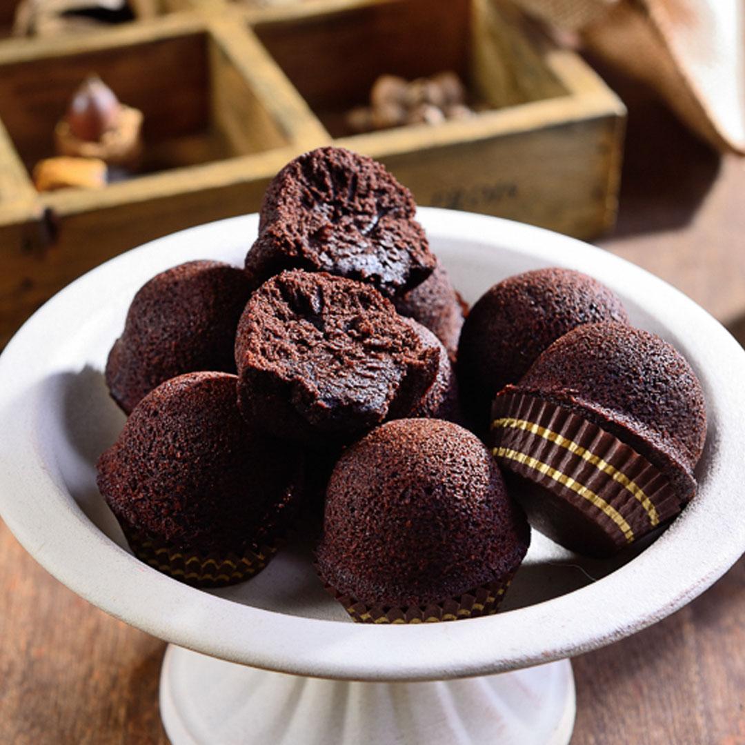 巧克力布朗尼1盒(12入)