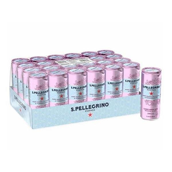 [COSCO代購] W125877 San Pellegrino 聖沛黎洛 零卡香氛氣泡飲 石榴櫻桃風味 330毫升 X 24罐