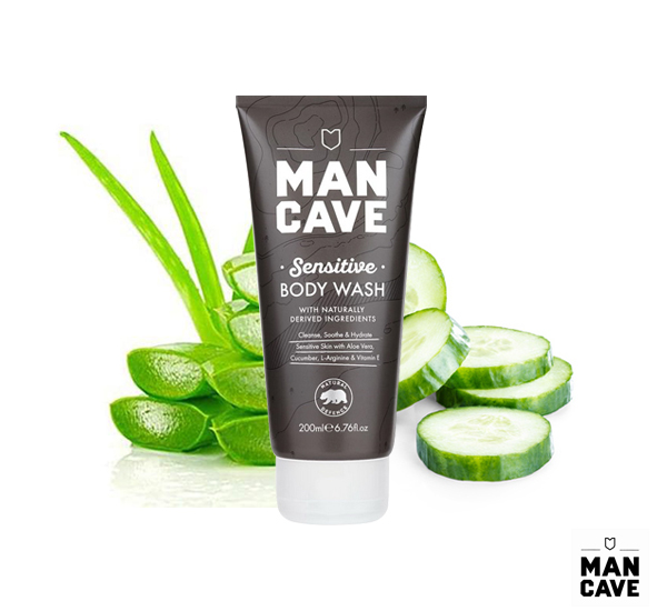 Man Cave Sensitive Body Wash敏感肌沐浴精(200ml)