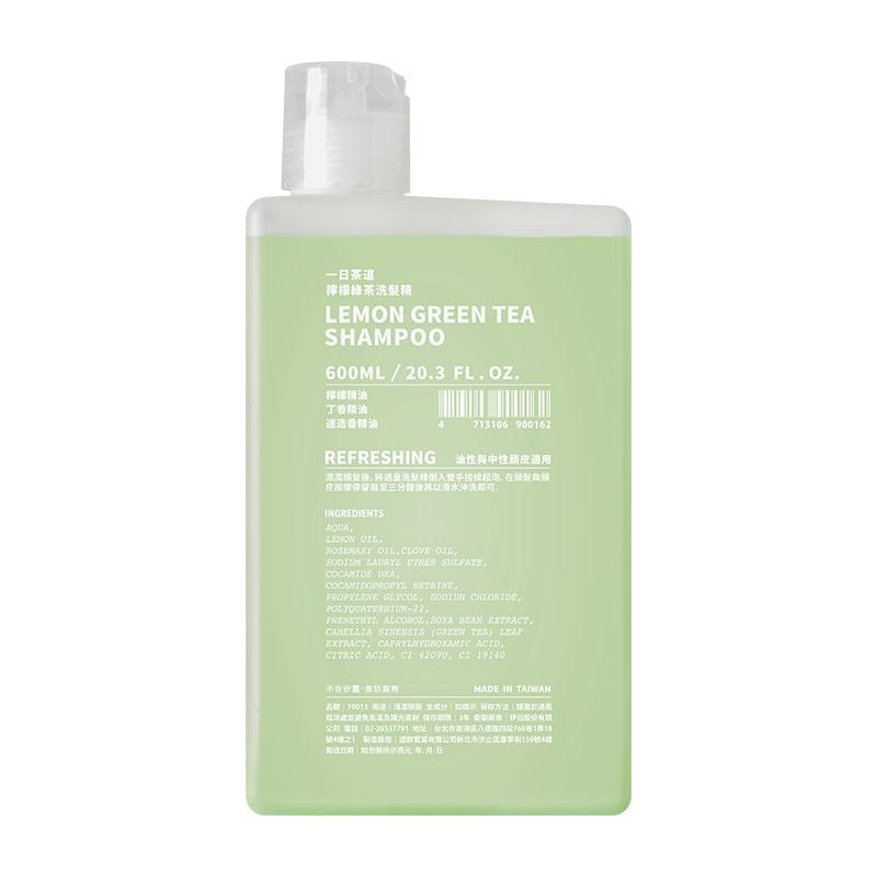一日茶道 TEAORY|檸檬綠茶洗髮精 600ml