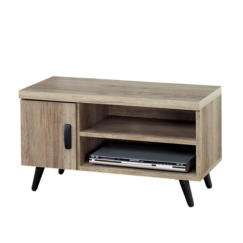布里安3尺電視櫃(古橡木)❘電視櫃/TV櫃/矮櫃【YoStyle】