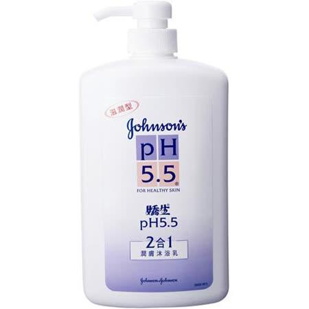 嬌生PH5.5沐浴乳-二合一1000ml