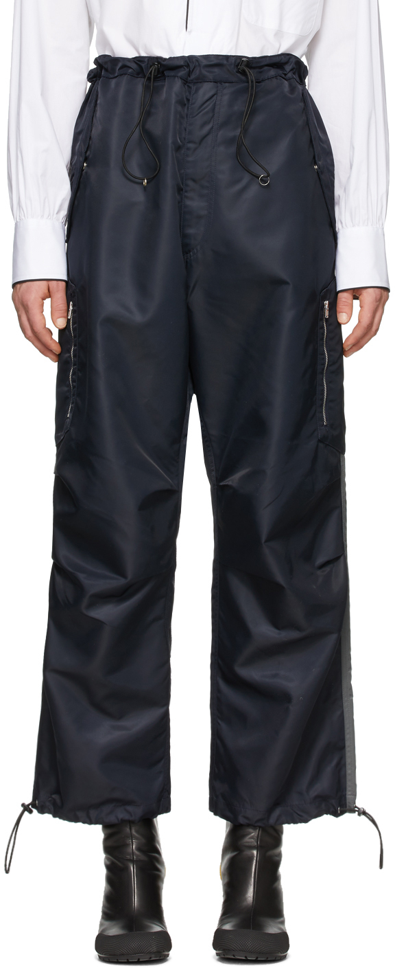 Random Identities 海军蓝 Berlin Baggies 工装裤