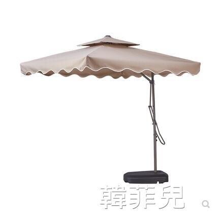 遮陽傘 戶外遮陽傘大太陽傘庭院傘室外傘沙灘傘保安崗亭傘折疊雨傘擺攤傘 2021新款