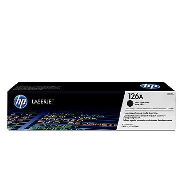 HP 126A CE310A 黑 原廠碳粉匣 CP1025nw M175a M175nw