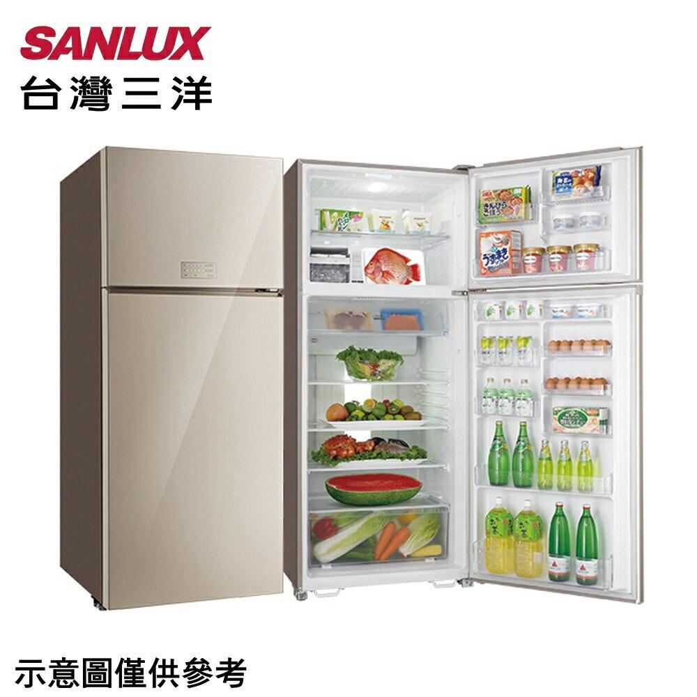 【SANLUX 三洋】533公升雙門變頻冰箱SR-C533BVG【三井3C】
