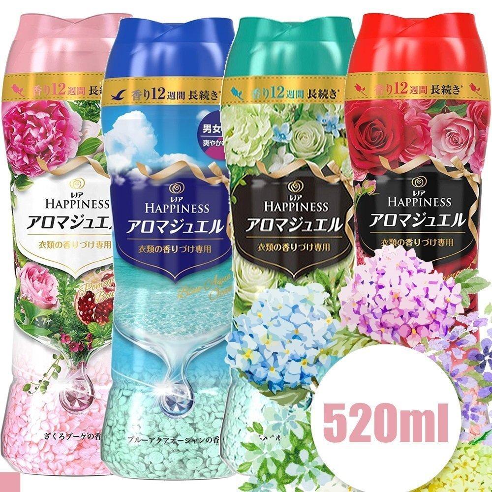 日本 P&G 衣物芳香顆粒 香香豆 520ml 3入組