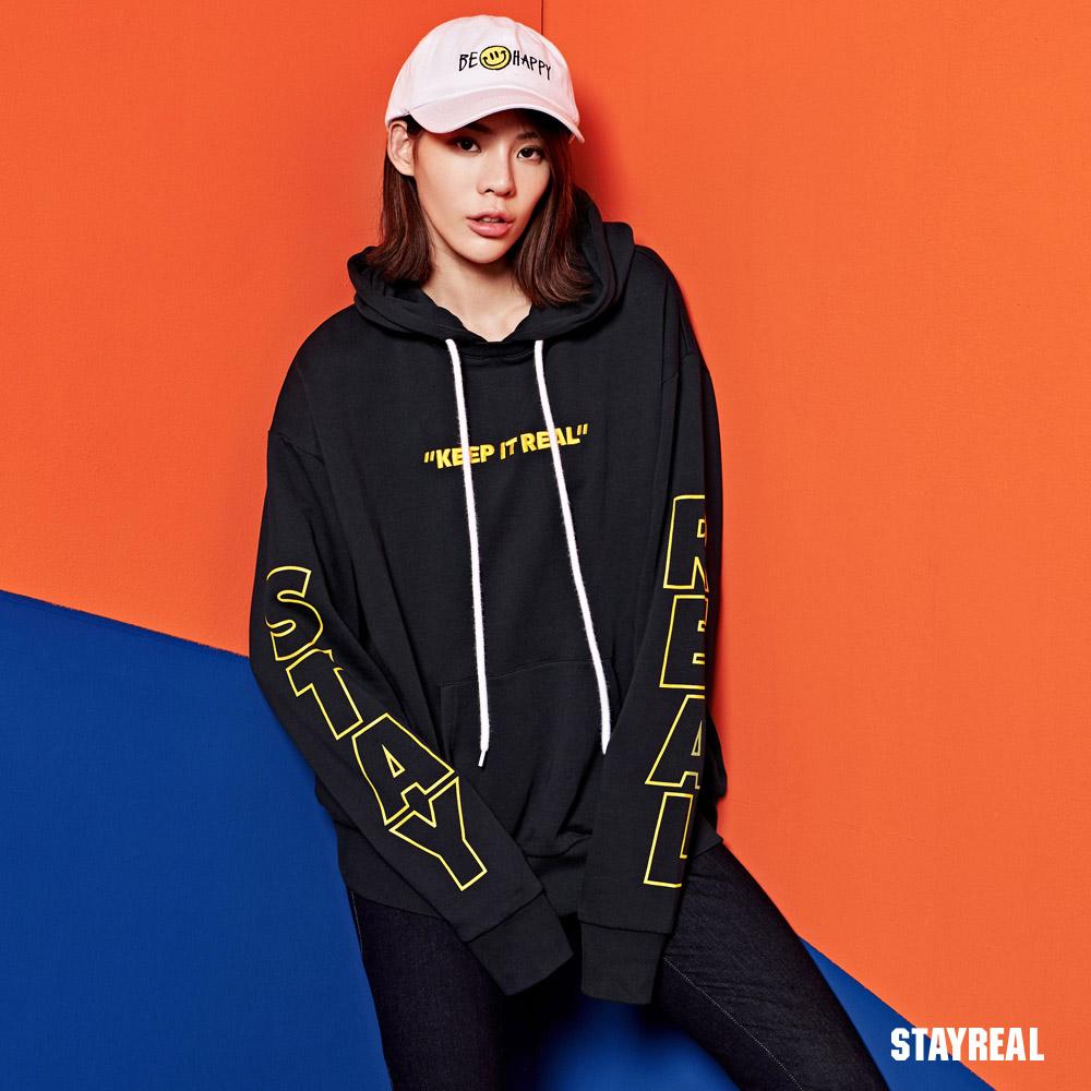 STAYREAL SR極簡帽T
