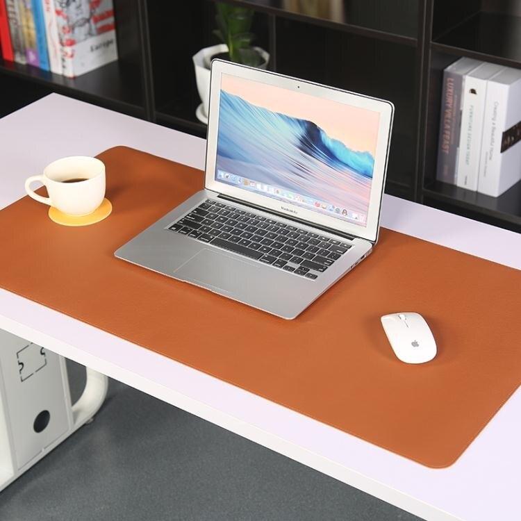 辦公桌墊筆記本電腦書桌墊臺墊鍵盤墊防水超大滑鼠墊