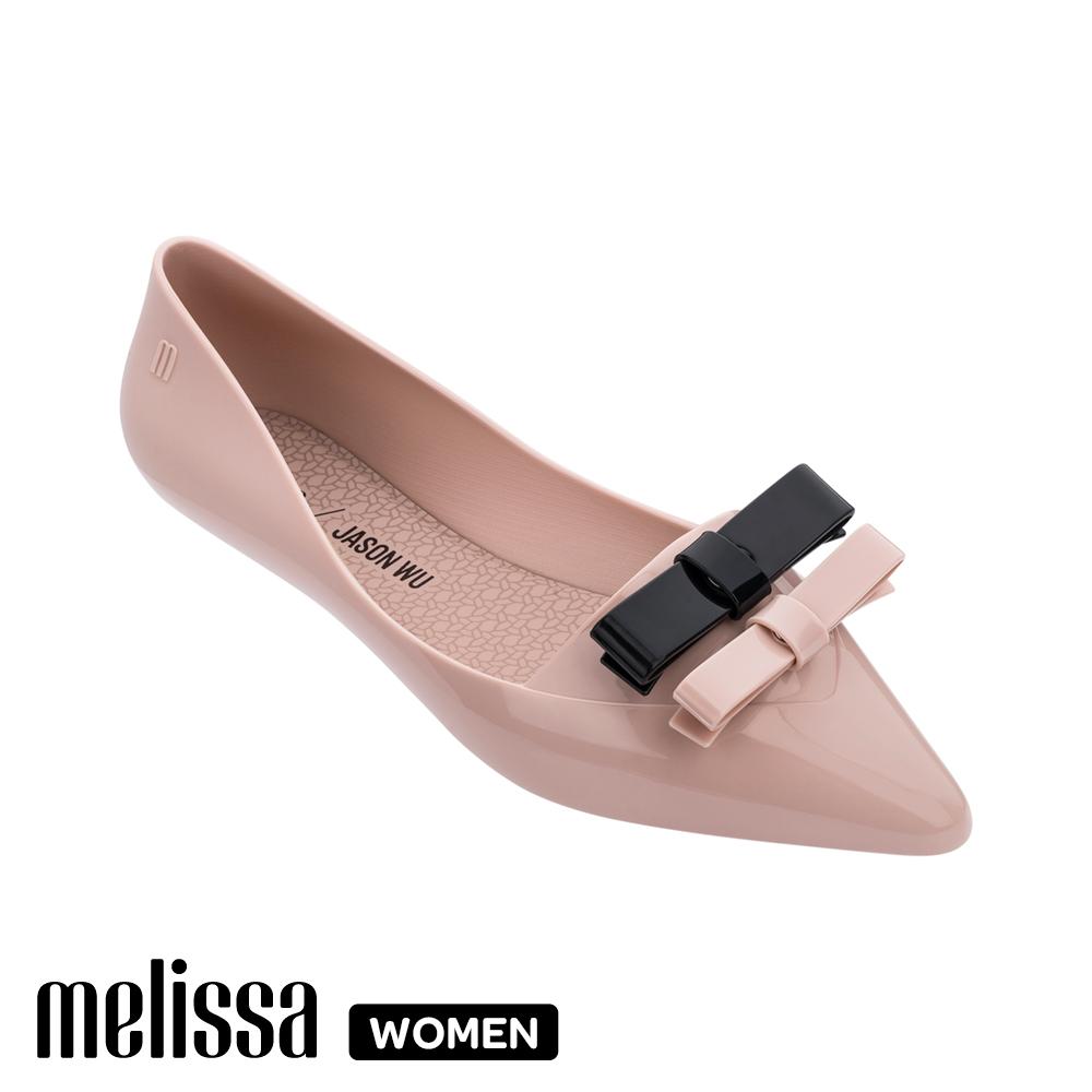 【Women】 Melissa x 吳季剛聯名 尖頭平底鞋 粉  (MA50-32740 C0)