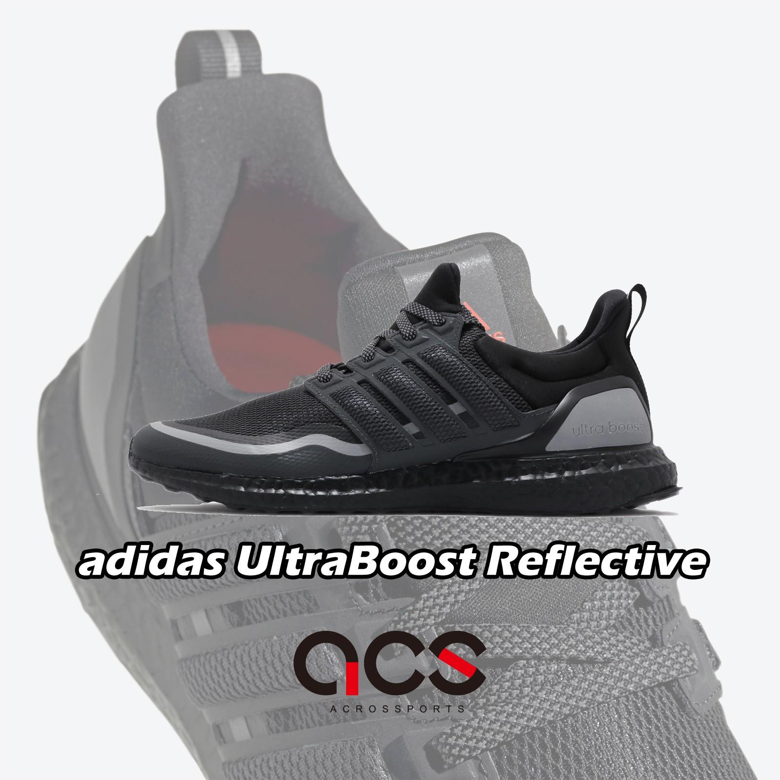 adidas 慢跑鞋 UltraBOOST Reflective 黑 灰 男鞋 反光 運動鞋 EG8105 【ACS】