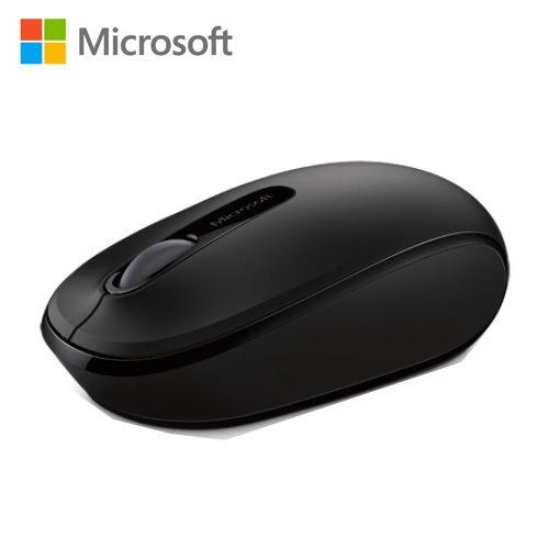 【Microsoft 微軟】1850 無線行動滑鼠 削光黑【三井3C】