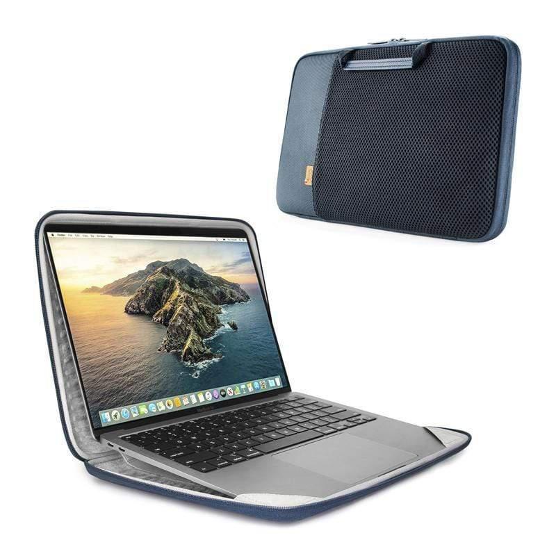 "MacBook Pro & Air 13""(新)-硬殼立架筆電包/電腦包 / ARIA 13"" Smart Sleeve-夜藍 /(含Pro 2017, Air 2018以後所有版本) DARK BL"