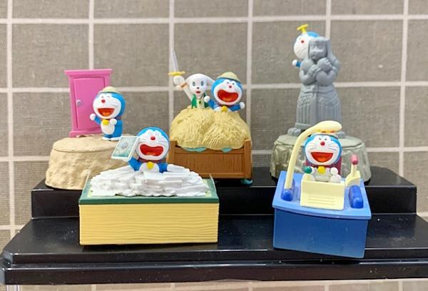 【震撼精品百貨】Doraemon_哆啦A夢~擺飾-大魔鏡系列-5入盒裝*20195