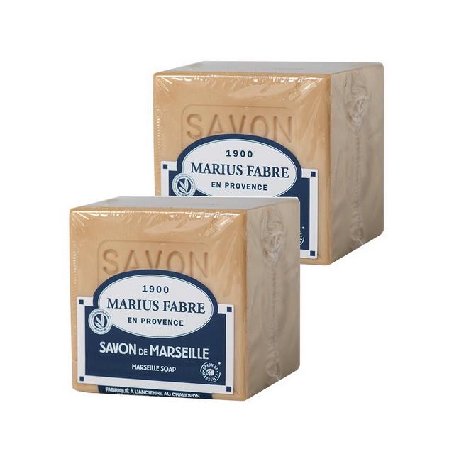 MARIUS FABRE法鉑棕櫚油經典馬賽皂(200g)x 2