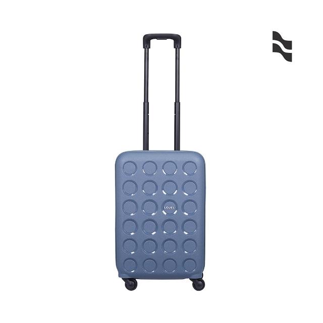 LOJEL VITA PP 硬殼 雙層防盜拉鍊 登機箱 行李箱 22吋 鋼藍色