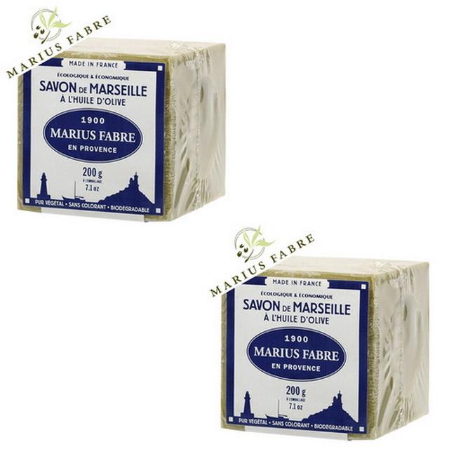 MARIUS FABRE法鉑橄欖油經典馬賽皂(200g)x 2