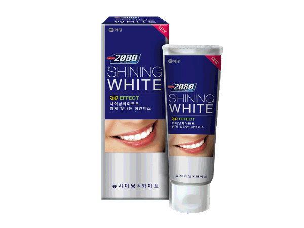 韓國 2080~ 三重亮白牙膏(100g)【D895184】亮白/修護