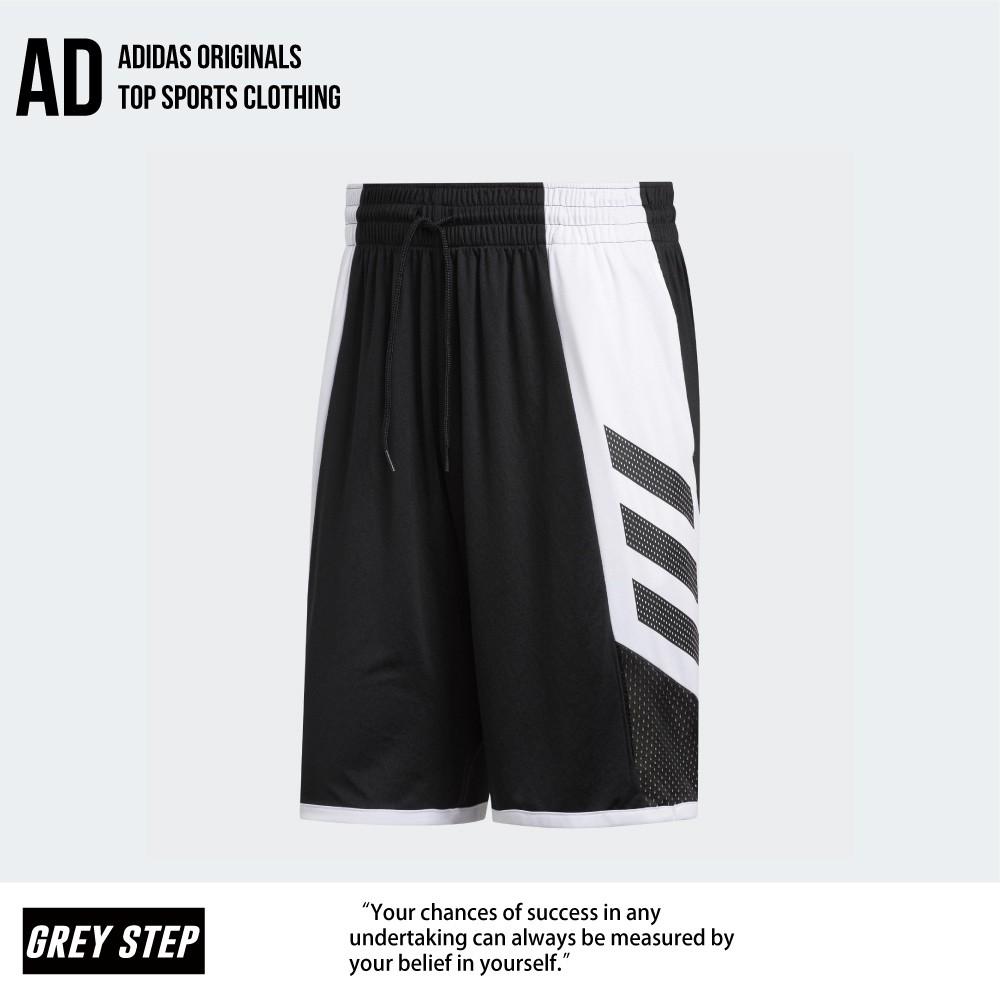 Adidas 愛迪達 經典 籃球短褲 運動短褲 休閒短褲 運動褲 短褲 透氣 黑色 FH7947 全新正品 統一發票