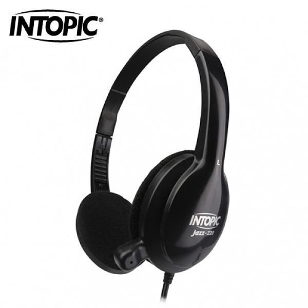【INTOPIC 廣鼎】頭戴式耳機麥克風(JAZZ-220)
