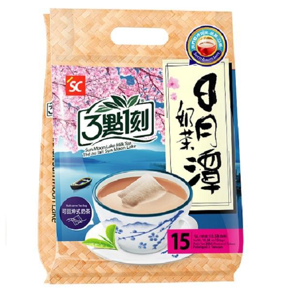 點數15%★食品飲料滿千–3點1刻日月潭奶茶(20gx15入) 【康是美】